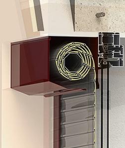 Konfigurátor venkovní rolety - Venkovní roleta pohledová vrchní schránka