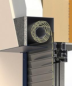 Konfigurátor venkovní rolety - Zaomítací schránka pro venkovní rolety