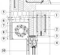 Podomitková scránka pro venkovní roletu